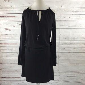 Michael Kors Cold Shoulder Dress Black Size S
